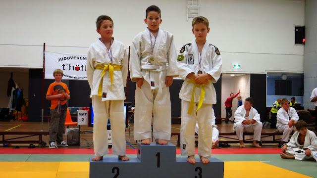 Poule 19, 1e Guan Alcazar Paradas, 2e Jamie van der Vegt en 3e Thomas in het Veld .JPG